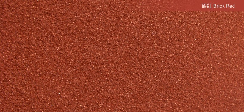 Brick red40-80 meshCOLORED SANDS