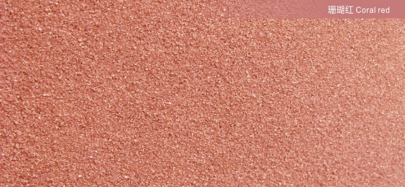 Coral red40-80 meshCOLORED SANDS