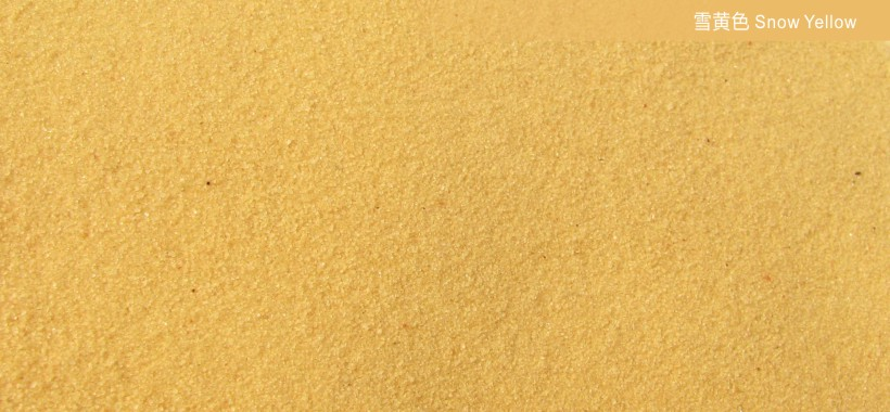 Yellow snow80-120 meshCOLORED SANDS