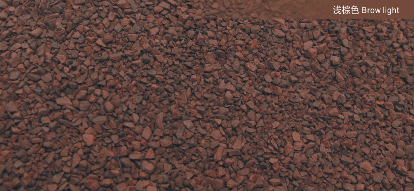 Brown light10-40 meshROOFING GRANULES